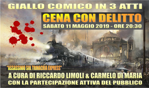 Assassinio sul Trinacria Express (cena con delitto)