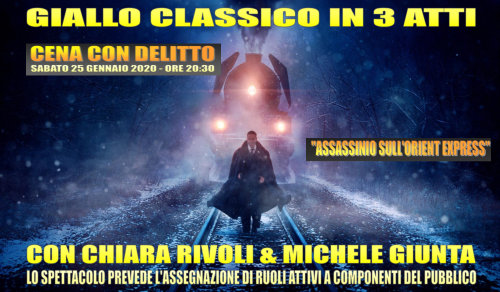 Assassinio sull'Orient Express (cena con delitto)