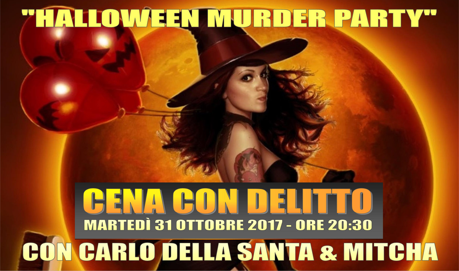 Halloween Murder Party (cena con delitto)